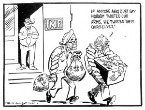 Ajker Artho-Niti _Laxmaner Cartoon 2
